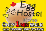 Egg Hostel in Hongdae